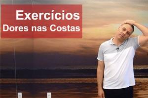 Exercícios para aliviar dores nas costas