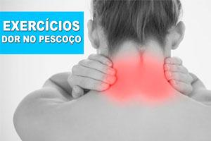 Exercícios para tirar dor no pescoço e baixar o estresse
