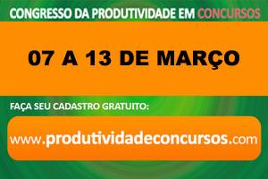 1º Congresso Nacional da Produtividade em Concursos