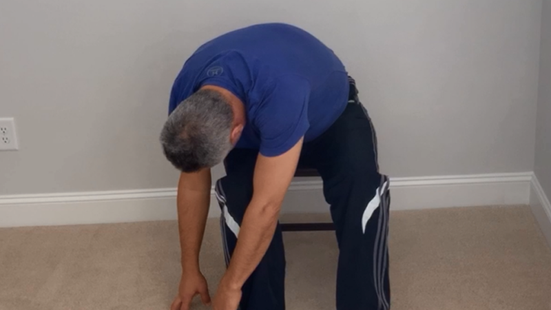 Pratique estes exercícios no seu sofá